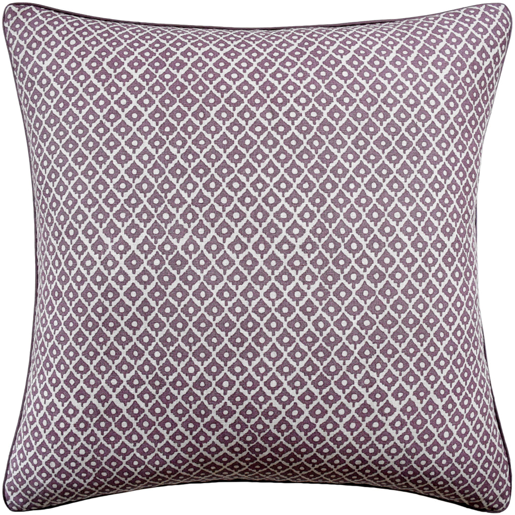 Petit Arbre Pillow, Plum, Pair