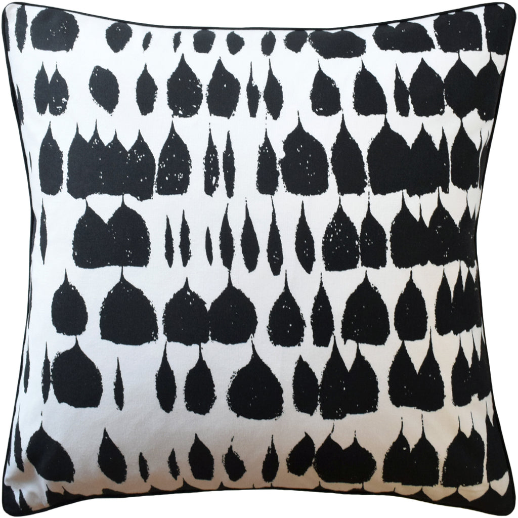 Queen of Spain Pillow, Black, Pair