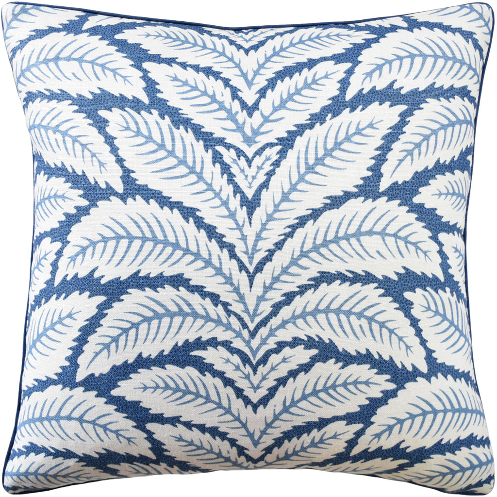 Talavera Pillow, Indigo, Pair