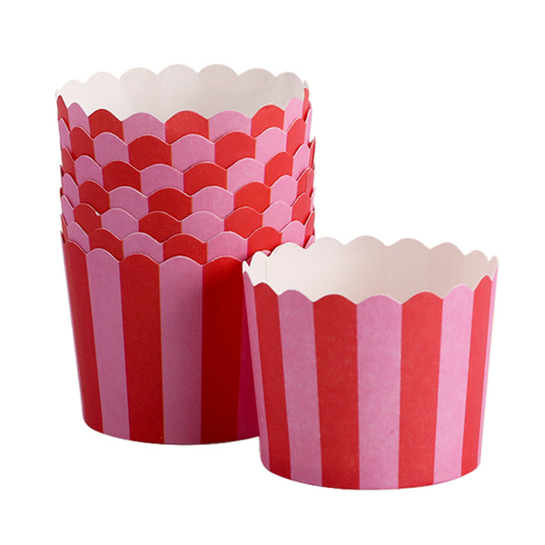Light Pink and Hot Pink Cupcake Liners