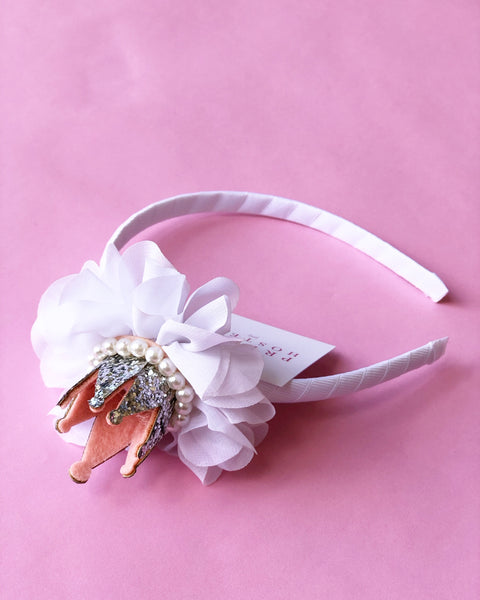White Crown Headband