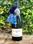 Blue Wine Tassel