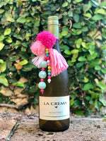 Pink Unicorn Wine Tassel