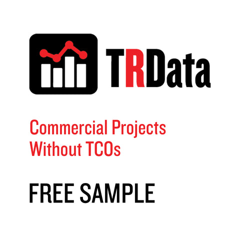 Commercial Projects Without TCOs Sample