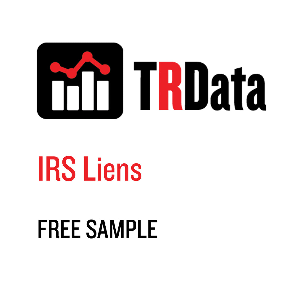 IRS Lien Sample