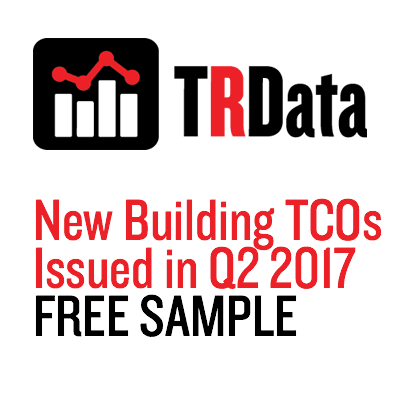 New Building TCOs Issued in Q2 2017 Sample