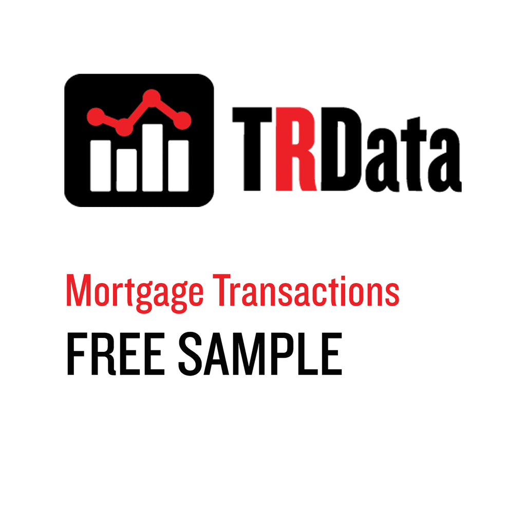 Mortgage Transactions Sample