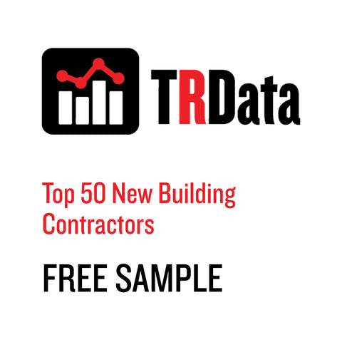 Top 50 New Building Contractors Sample