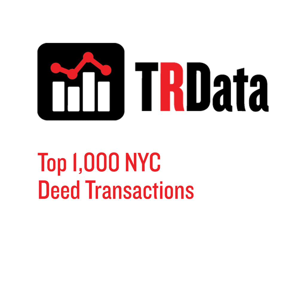 Top 1,000 NYC Deed Transactions