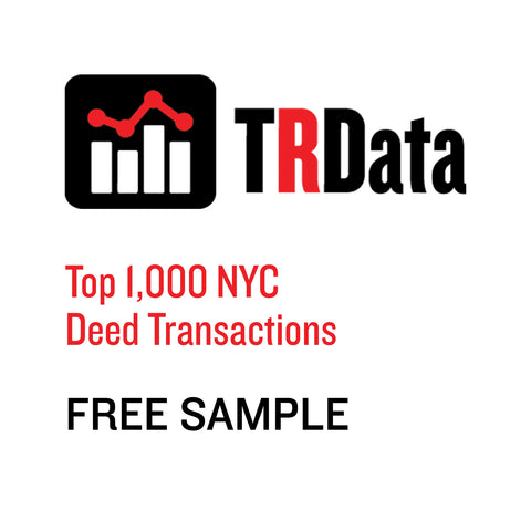 Top 1,000 NYC Deed Transactions Sample