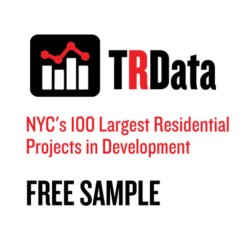 NYC's 100 Largest Residential Projects in Development Sample
