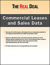 NYC Commercial Leases and Sales Data (2004-2015)
