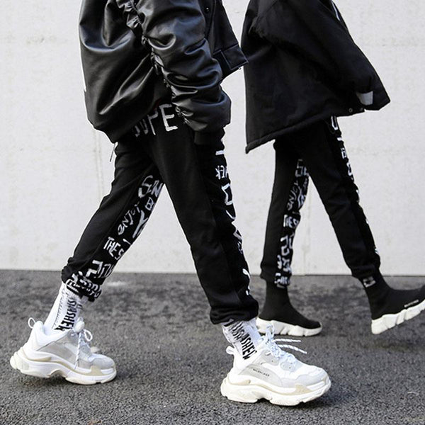 MIXED IMPRINTED JOGGERS - VirginHype