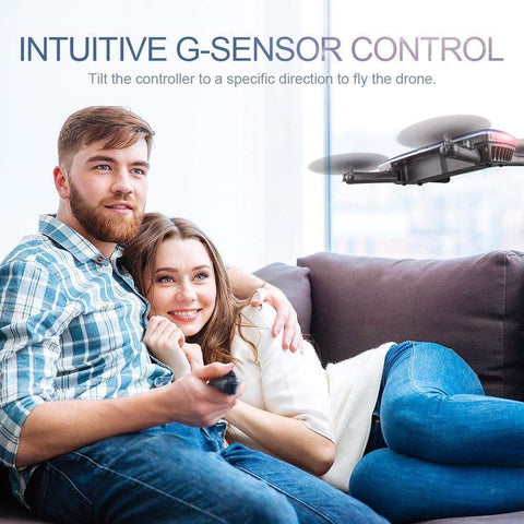 G-sensor Controller: Just move your hand, the drone will follow