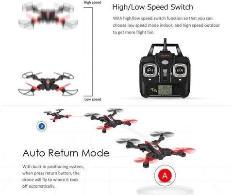 The Ultimate Quadcopter Drone (360° Stunts, Gravity Sensor, Flight Design, One Key Land)