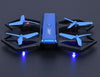 "Image of The ""Blue Crab"" Stunt Drone (HD Camera, 3D Flips + Tricks, Night LED & 3 Speeds)"