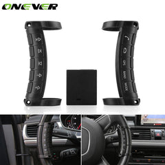 Universal Car DVD GPS Navigation Button Remote Control Wireless Steering Wheel Remote Controller 10 Key Buttons for Auto Stereo