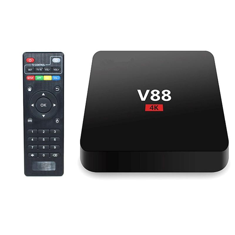 V88 MXQ-4k Smart TV Box RK3229 MXQpro Quadcore 4K Wifi Full HD 1GB 8GB Android 6.0 Smart Multimedia Player Video Player