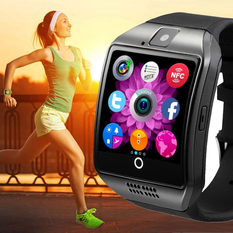 Fitness Pedometer Wristwatch
