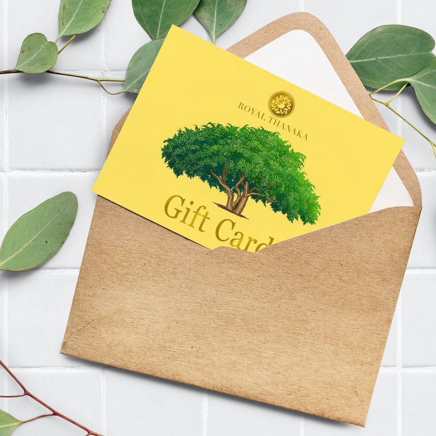 Gift Cards - Royal Thanaka