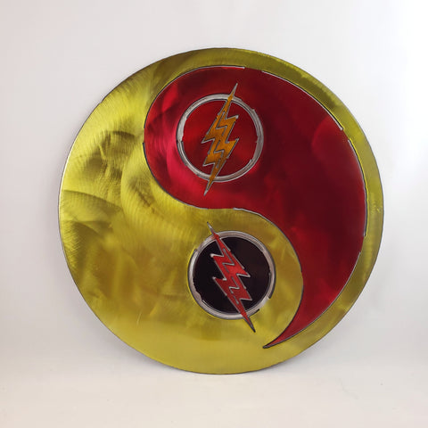 Flash & Reverse Flash Yin Yang CW Version