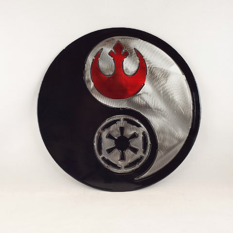 Rebel Alliance and Galactic Empire Yin Yang - Star Wars