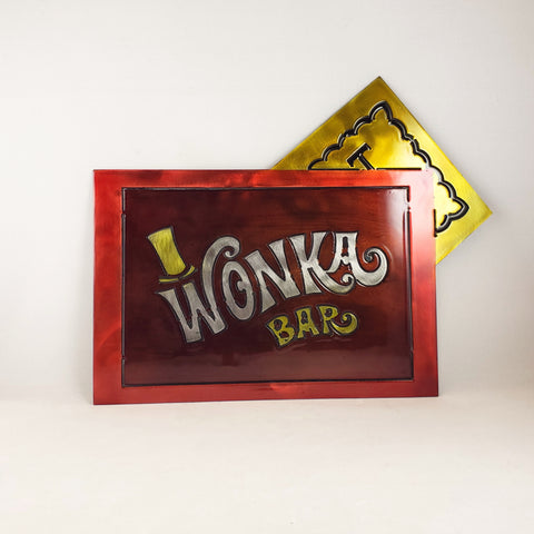 Wonka Bar with Golden ticket