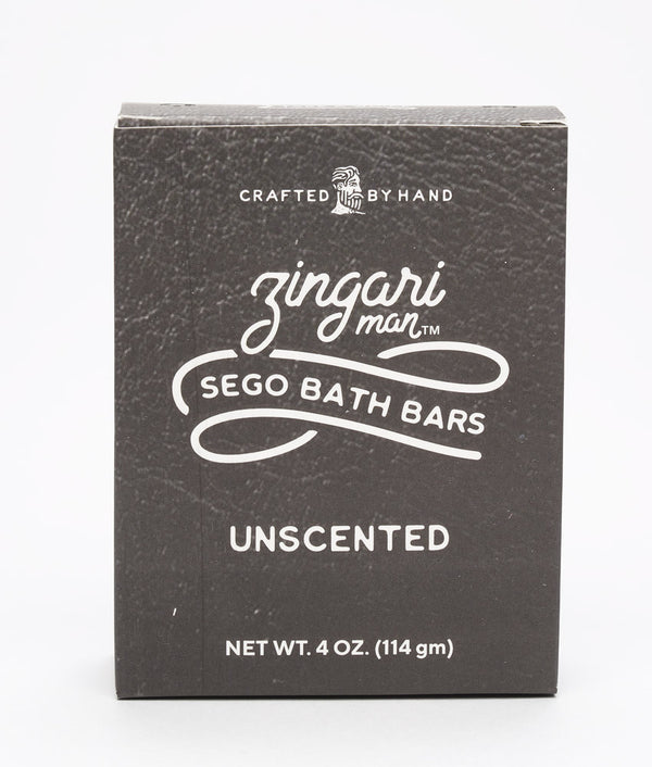 Unscented bath bar