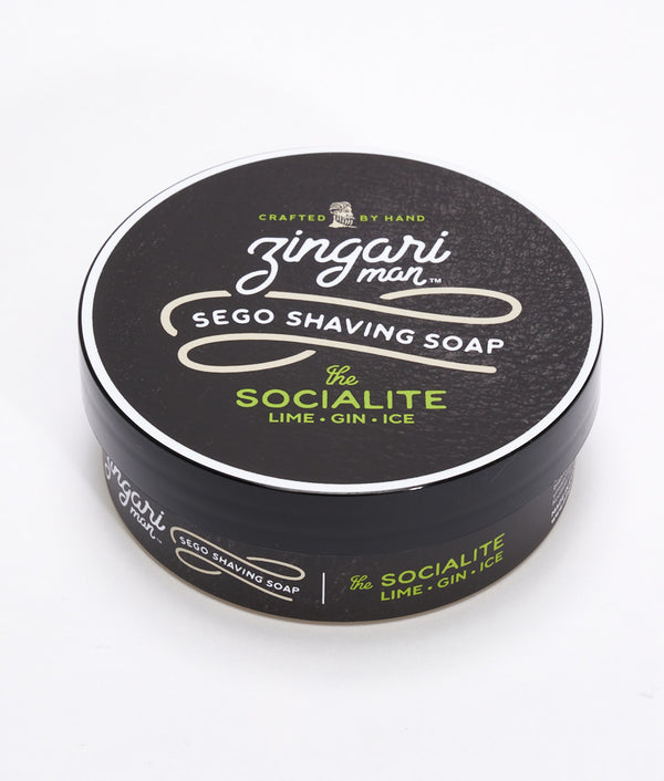 The Socialite Shave soap