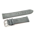 Leather Strap Classic Suede Gray