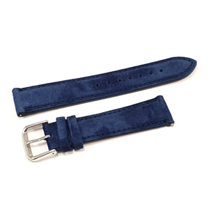 Leather Strap Classic Suede Navy