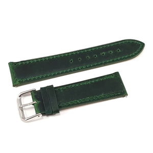 Leather Strap Classic Green