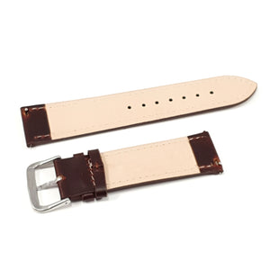 Leather Strap Classic Burgundy