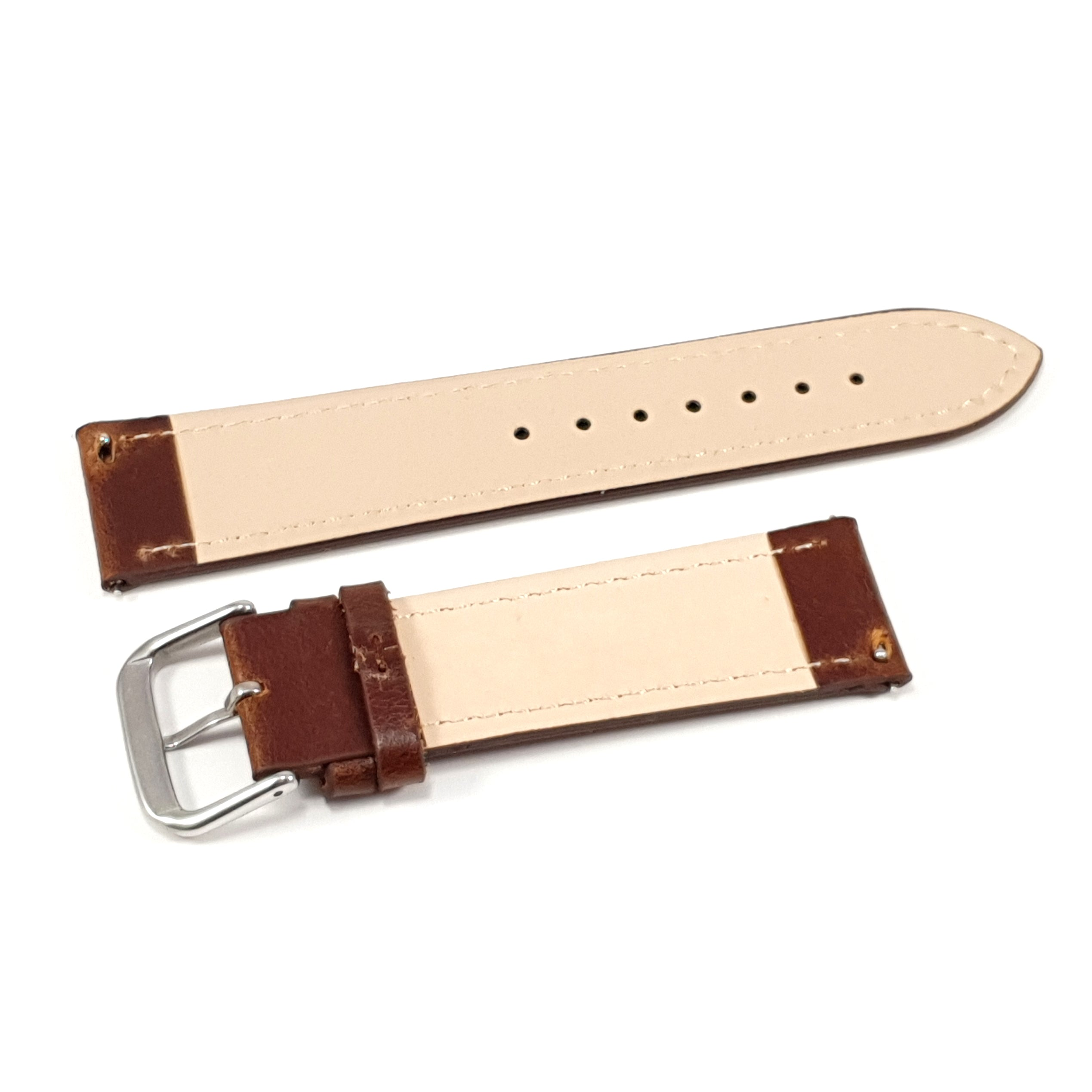 Leather Strap Classic Sienna