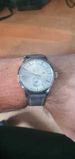 Leather Strap Classic Gray