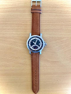 Leather Strap Classic Suede Golden Brown