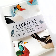Load image into Gallery viewer, Floaters Tea Towel