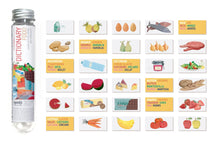 Load image into Gallery viewer, Micro Food Dictionary Cards