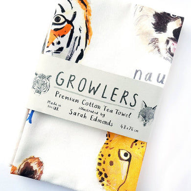 Growlers Tea Towel