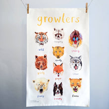 Load image into Gallery viewer, Growlers Tea Towel