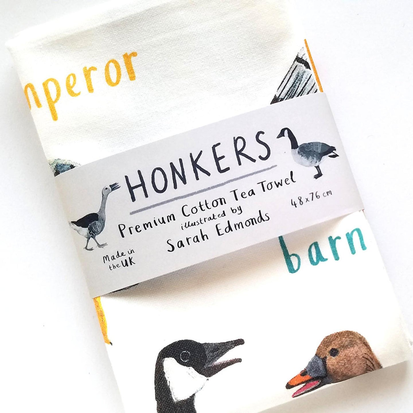 Honkers Tea Towel (COMING SOON!)