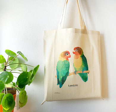 Love Birds Tote Bag (Last one - more coming!)