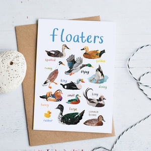 Floaters Card