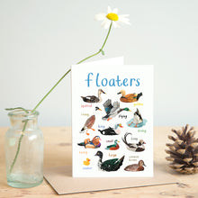 Load image into Gallery viewer, Floaters Card
