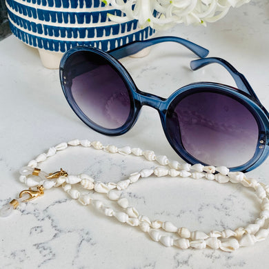 White Shell Glasses Chain