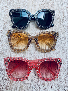 Pink Star Studded Sunglasses (Only 2 pairs left!)