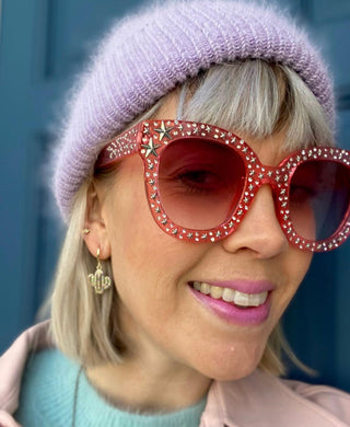 Pink Star Studded Sunglasses (7 pairs left!)