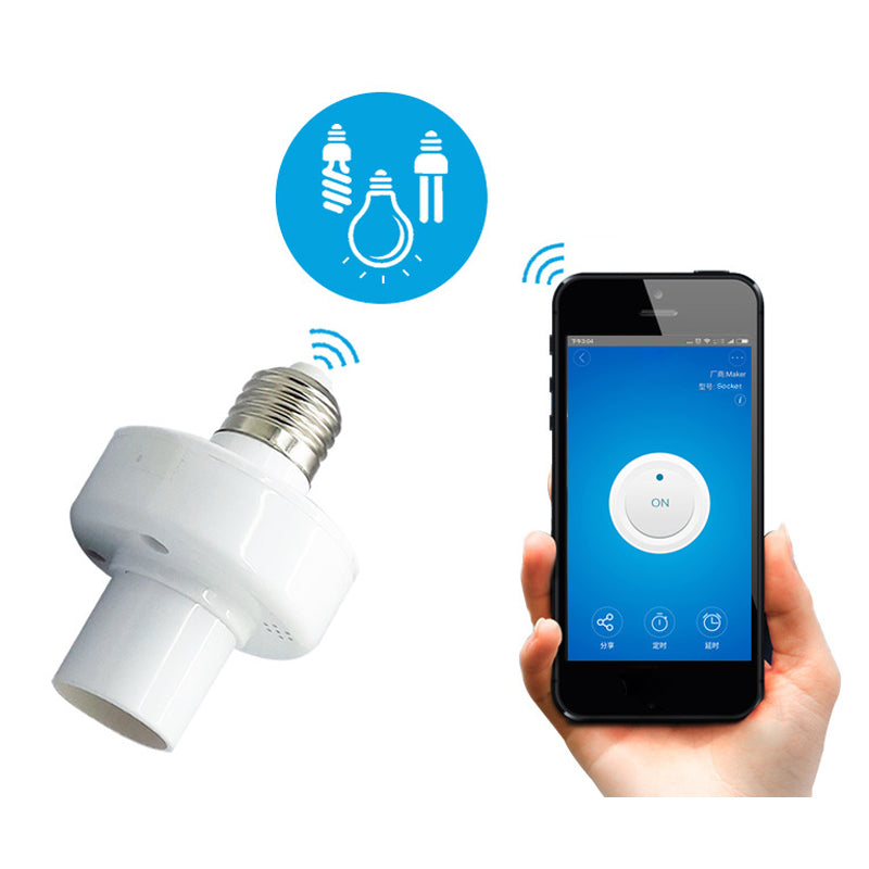 SONOFF® E27 LED Wifi Light Bulb Adapter