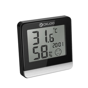 Bathroom Digital Clock & Thermostat