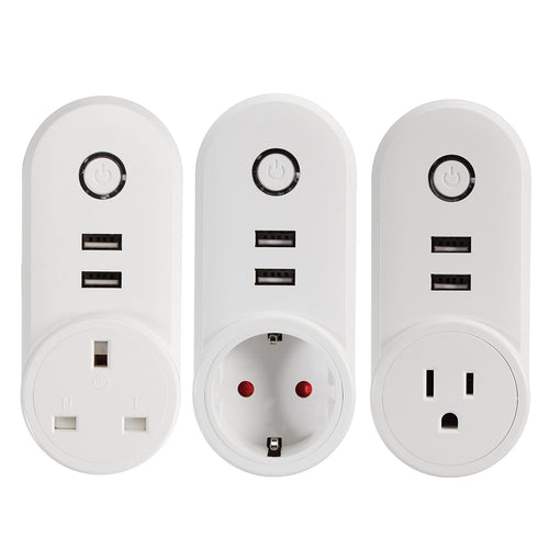 Smart Plug Socket with USB Ports